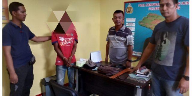 Polisi Ciduk Terduga Curat Di Rangsang-Meranti