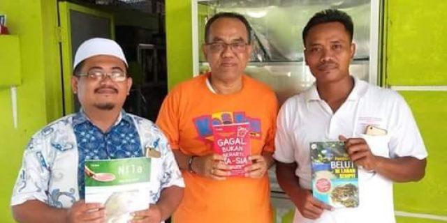 Dinas Perpustakaan Labuhanbatu Kunker ke Desa Lingga Tiga, Berikut Hasilnya
