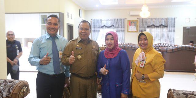 Bupati Meranti Irwan Nasir,Ucapkan 'Selamat'Hari Jadi Bank Riau Kepri ke 52