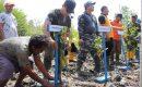 Danlanal Dumai Tanam 500 Bibit Mangrove