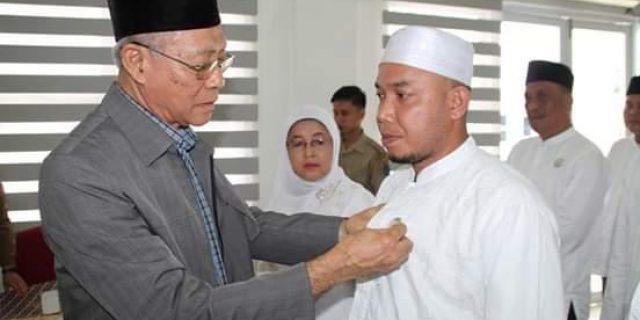 Waka BWI Sumut didampingi Plt Bupati Lantik Pengurus Perwakilan BWI Labuhanbatu