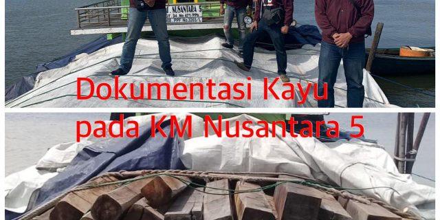 Sebanyak 791 Kayu Diamankan Unit Tipidter Sat Reskrim Polres Meranti