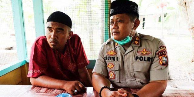 AKBP Taufiq Ajak Putri Korban Tembakan Kerja di Mapolres
