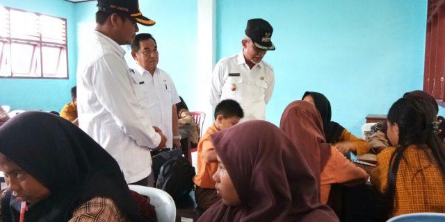 Wabup Kepulauan Meranti,H.Said Hasyim Tinjau Sekolah Memasikan Proses Belajar Mengajar