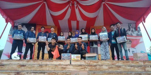 BEM dan Ormawa Politeknik Negeri Bengkalis Galang Dana Bantuan Korban Gempa Lombok NTB