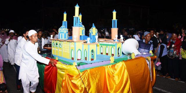 Pawai Takbiran Idul Adha 1439 H/2018 M Berlangsung Sukses