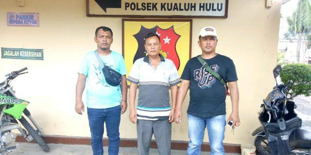 Penganiaya Ditangkap Polsek Kualuh Hulu
