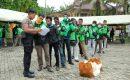 Polda Riau Bantu Masyarakat Terdampak Langsung Covid-19
