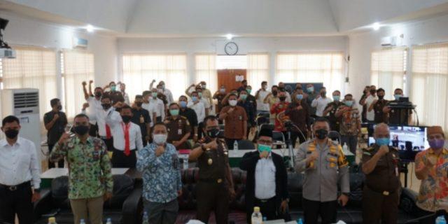 Buka Rakor Sentra Gakkumdu Se Riau, Kapolda : Kita Akan Dukung Keputusan Bawaslu