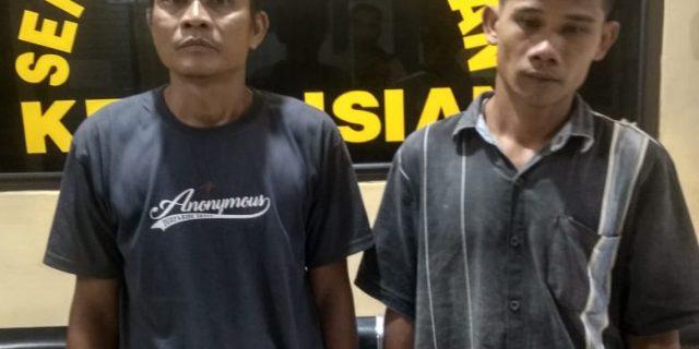 Berantas Narkoba,Kades Serahkan Warganya Pemakai Sabu-Sabu