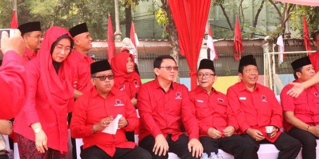 HASTO Kristyanto Pimpin Upacara HUT RI Ke 74 Bersama Ribuan Kader serta Simpatisan PDIP
