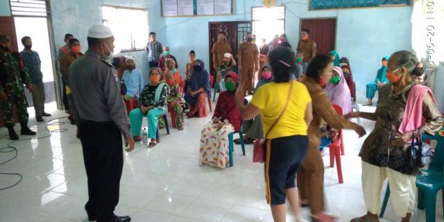 157 KK Warga Desa Tanjung Harapan, Kec.Pangkatan, Labuhanbatu Terima Bansos Dana Desa Berjalan Sukses