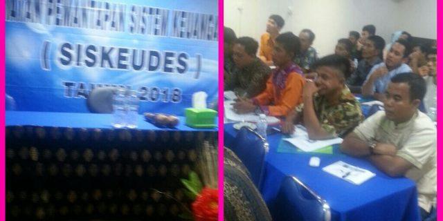 Dinas PMD Laksanakan Bimtek Pemantapan SISKEUDES,Se Kabupaten Kepulauan Meranti