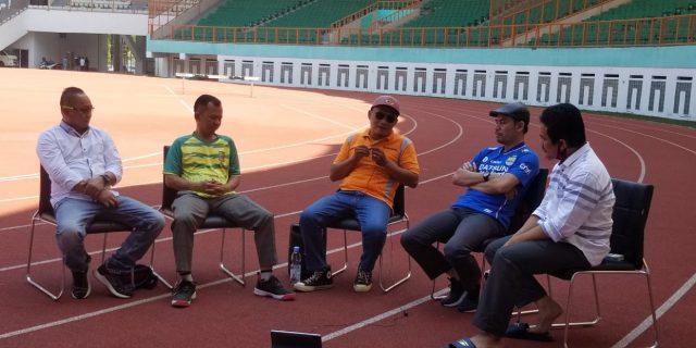 Diskusi Masa Depan Sepakbola Kabupaten Bekasi