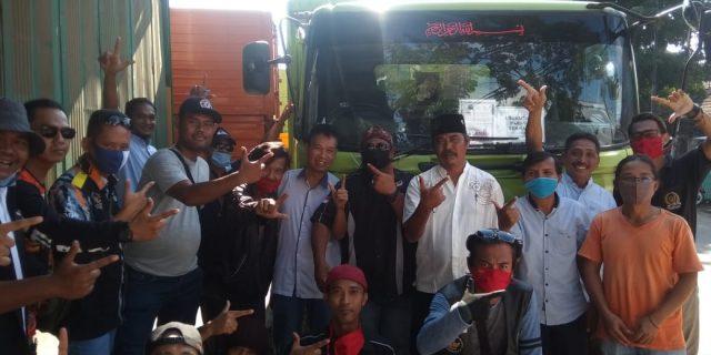 Keluarga Besar GMBI Distrik Kabupaten Bekasi Bagikan 2.000 Paket Beras di Desa Cikarang Kota