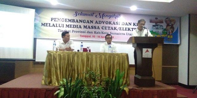 Antisipasi Lonjakan Penduduk,BkkbN Sumut Rangkul Wartawan Atasi Laju Pertumbuhan Penduduk