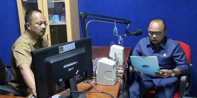 H Andi Suhaimi ucapkan Selamat Hari Raya Idul Adha 1439 Hijriah di Radio RSPD 96,5 FM