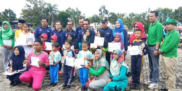 Wakil Bupati Meranti Canangkan GERMAS Tahun 2018, Ajak Masyarakat Berprilaku Sehat Mulai Dari Diri Sendiri
