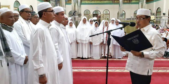 Wabup Said Hasyim Nahkodai IPHI Meranti Masa Bakti 2018-2023
