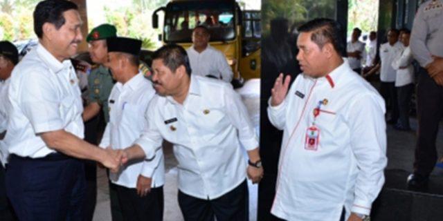 Bupati Bengkalis Amril Mukminin Di Undang Menko Kemaritiman Luhut Binsar Panjaitan ke Jakarta