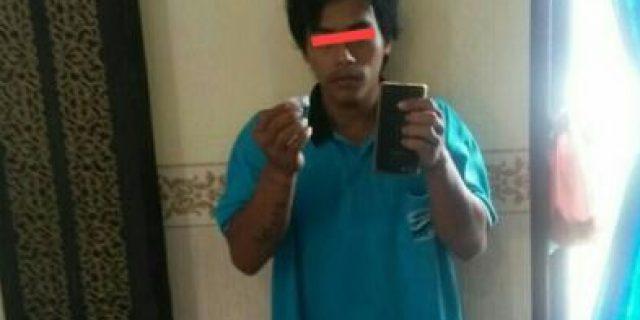 Bandit Labusel Ini Selipkan Sabu Dalam Handphone