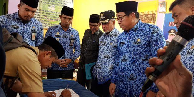 Wabup Meranti,H.Said Hasyim Buka Musrenbang di Kec.Tasik Putri Puyu