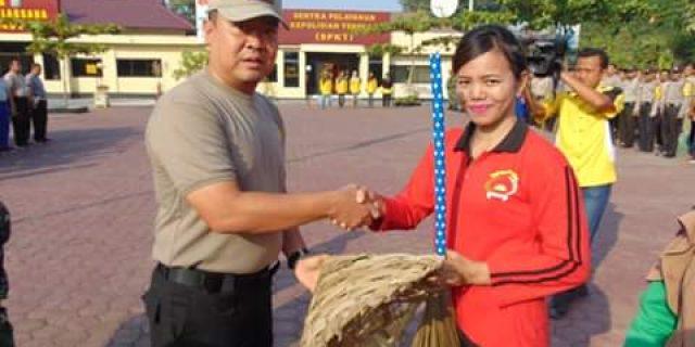 Kapolres Tanjung Balai Peringati HPSN Dan Sekaligus Memberikan Tali Asih