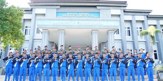 DANLANTAMAL VII Lepas 36 CASIS TAMTAMA PK  Menuju Seleksi Pusat