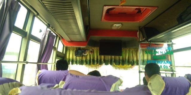 Bus PT. INTRA No 06 Diduga Menipu 2 Orang Penumpang Tujuan Medan