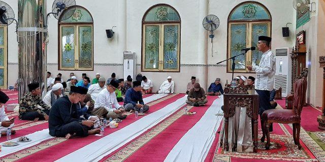 Asisten III Sekdakab Meranti Hadiri Acara Isra' Miraj 1440 H, Ajak Umat Muslim Senantiasa Tunduk dan Patuh Atas Perintah Allah