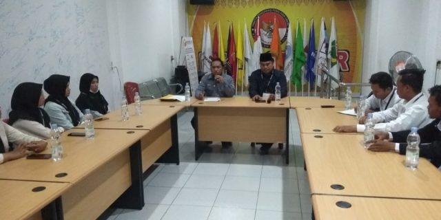 Bawaslu Rohil Terima Kunjungan Jaringan Pemantau dan Periset Indonesia