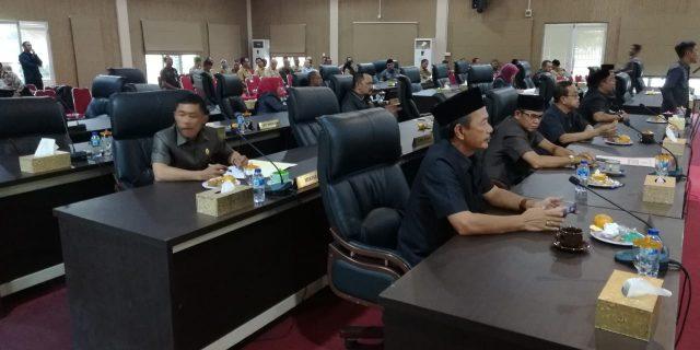 Rapat Paripurna DPRD Meranti Ditunda,Karena Tidak Kuorum