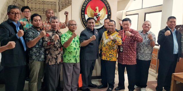 Rapat Dikantor Sekjend Watanas, Bupati Usul Sagu Masuk Komoditi Pangan Strategis Nasional