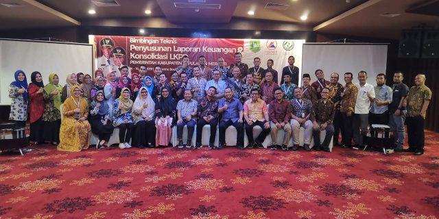 Bupati Meranti Buka Bimtek Penyusunan LKPD Dilingkungan Pemkab. Meranti 2019
