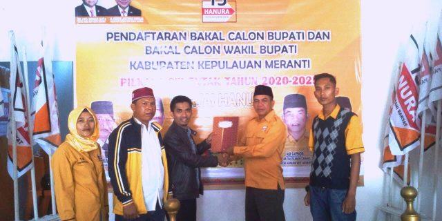 H.Muhammad Adil Ambil Formulir Ke DPC Hanura
