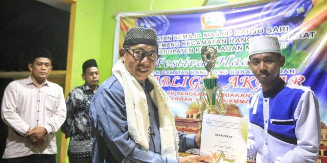 H.Yulian Norwis Hadiri Penutupan Festival Hadroh Ke-1,Tabligh Akbar Dan Maulid Nabi Besar Muhammad SAW Di Lemang