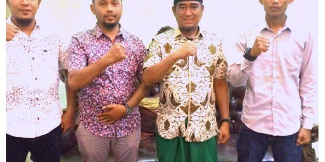 Pengurus Projo Meranti Silaturahmi Dengan Ketua PWNU Provinsi Riau
