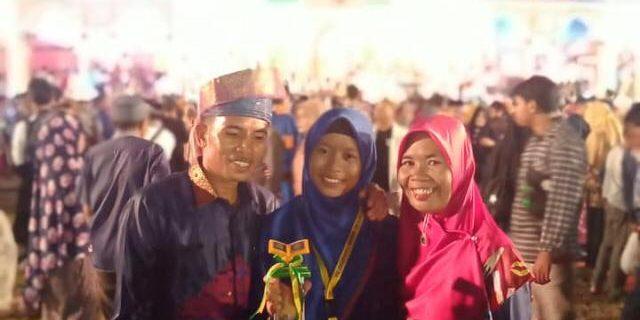 Zuliantia Peserta MMQ Asal Baran Melintang Persembahkan Juara di MTQ Ke-38 Provinsi Riau