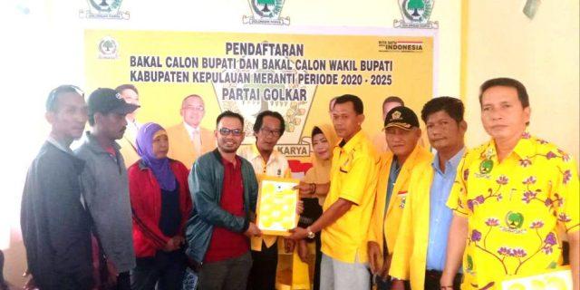 Pasangan MANTAP bersama Buruh, Pedagang dan Tukang Becak Resmi Mendaftar Ke Golkar