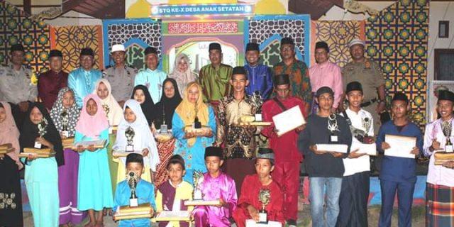 STQ Desa Anak Setatah Selesai, Kades : Untuk Persiapan MTQ Tingkat Kecamatan