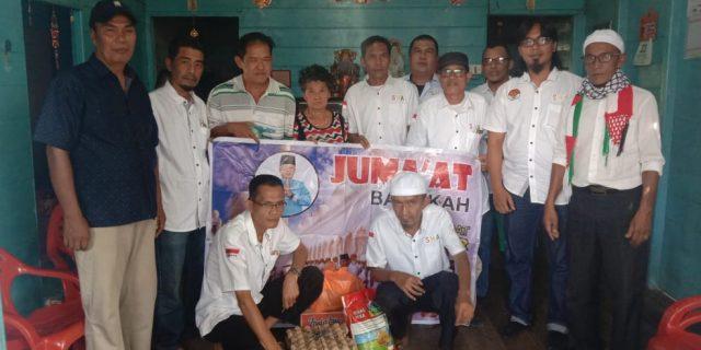 Jelang Momen Perayaan Imlek, Sahabat Haji Asmar Beri Bantuan Untuk Acai Warga Tionghoa di Jum'at Barokah