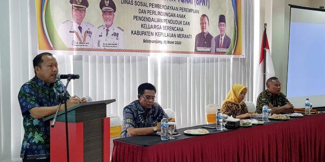 Sekda Harap Pelaksanaan Program BPNT Berjalan Lancar dan Bermanfaat Bagi KPM di Meranti