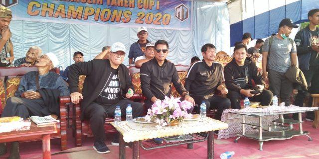 Hadirkan Indra Sjafri Dan DPR RI Di Pamungkas Cup 1, Mahmuzin Taher Harapkan Prestasi Sepakbola Meranti Lebih Baik