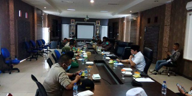 DPRD Lakukan Rapat Koordinasi Bersama Gugus Tugas Covid-19 Kepulauan Meranti