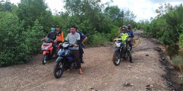 Babinsa Dan BPBD Akan Rutin Melakukan Patroli Karlahut di Desa-desa