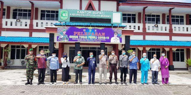 Berbagi Ilmu Penanganan Covid-19 Sekaligus Meningkatkan Sinergitas, DPRD Karimun Kunjungi Pemkab Meranti