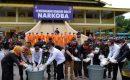 Musnahkan Barang Bukti Dikantor LAM, Kapolda Riau Ajak Semua Pihak Berantas Narkoba
