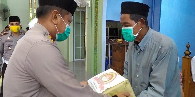 Kapolres Meranti Butuh Masukan Dari Alim Ulama, Ketua MUI : Tribrata Polri Punya Makna Yang Luas