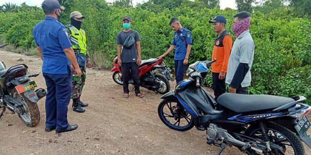 Cegah Karhutla, Babinsa Lakukan Patroli di Desa Lukun