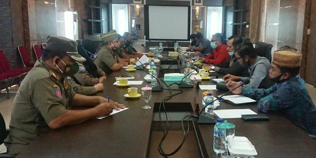 Komisi I DPRD Kabupaten Kepulauan Meranti Gelar Rapat Kerja Bersama Satpol-PP